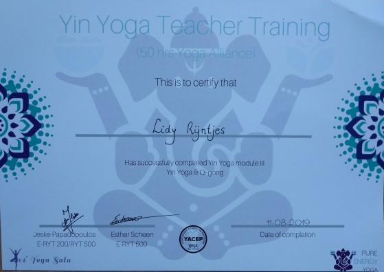 certificaat Yin en Qi-gong (2)